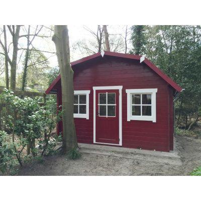 Bild 19 von Azalp Blockhaus Yorkshire 400x400 cm, 30 mm