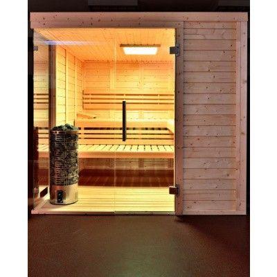 Afbeelding 28 van Azalp Sauna Luja 230x190 cm, 45 mm