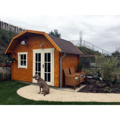 Bild 15 von Azalp Blockhaus Cornwall 450x300 cm, 30 mm