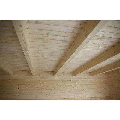 Bild 4 von Azalp Blockhaus Lars 350x400 cm, 45 mm