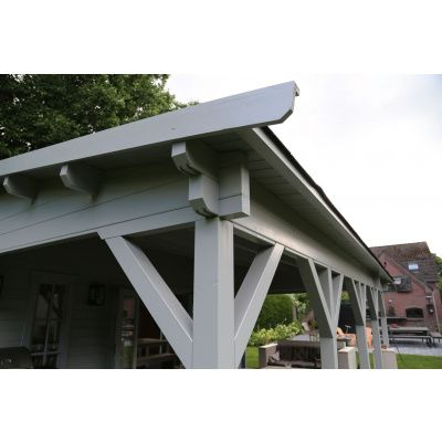 Bild 8 von Azalp Blockhaus Ben 600x750 cm, 60 mm