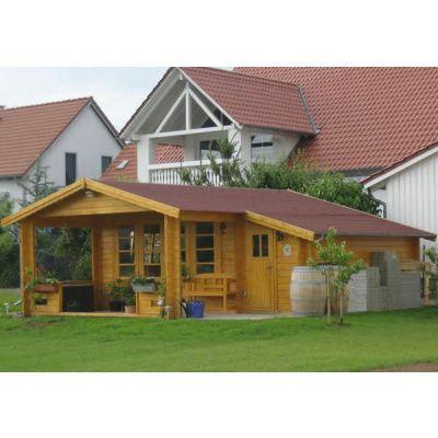 Afbeelding 28 van Azalp Blokhut, tuinhuisje of chalet op maat