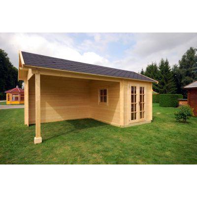 Bild 2 von Azalp Blockhaus Marnix 600x300 cm, 30 mm