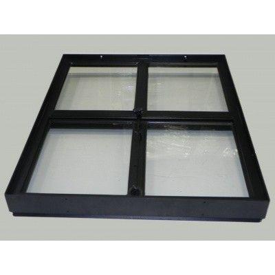 Afbeelding 3 van Azalp Stalen openklapbaar raam (onderste deel), 500x600 mm