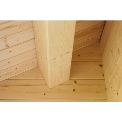 Afbeelding 12 van Azalp CLASSIC blokhut Cottage Style Cumberland 520x430 cm, 45 mm