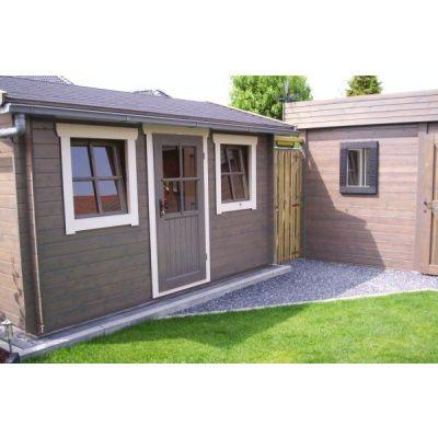 Bild 3 von Azalp Blockhaus Mona 550x550 cm, 45 mm