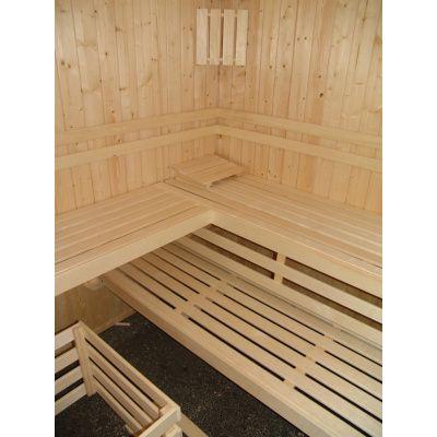 Afbeelding 6 van Azalp massieve sauna Alku 194x161 cm, 40 mm
