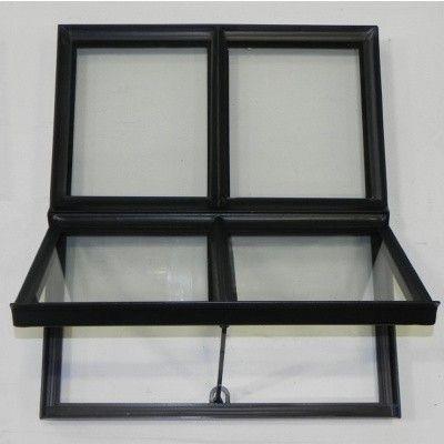 Hoofdafbeelding van Azalp Stalen openklapbaar raam (onderste deel), 500x600 mm