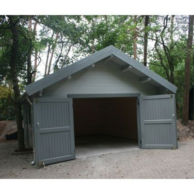Afbeelding 13 van Azalp Garage Keutenberg 470x570 cm, in 45 mm