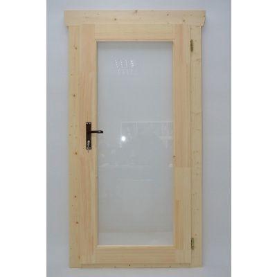 Hoofdafbeelding van Azalp Enkele Deur Glas (90x185 cm)