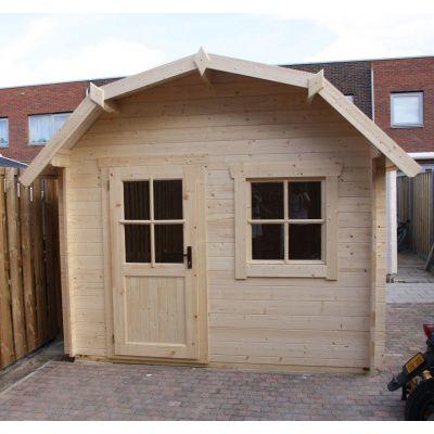 Bild 18 von Azalp Blockhaus Kent 250x250 cm, 30 mm