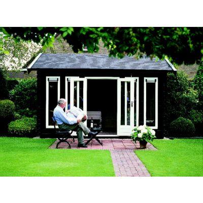 Afbeelding 37 van Azalp Blokhut, tuinhuisje of chalet op maat Duxwood