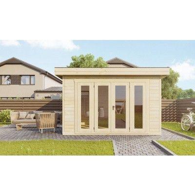 Bild 3 von SmartShed Blockhaus Zenon 400x300 cm, 45 mm