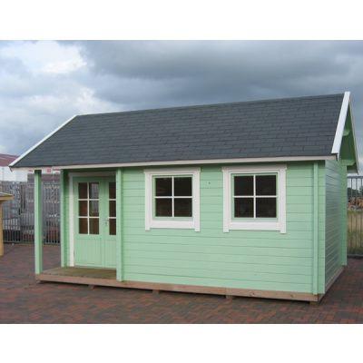 Afbeelding 69 van Azalp CLASSIC blokhut Cottage Style Cumberland 520x430 cm, 45 mm