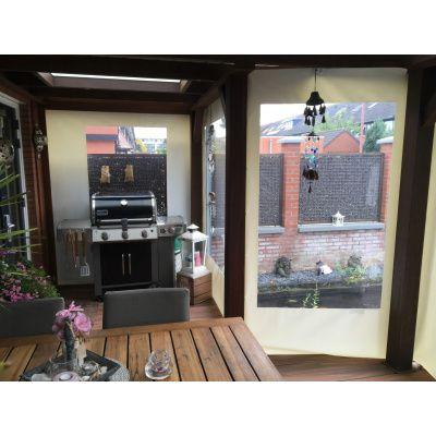 Afbeelding 9 van Azalp Verandazeil met raam 1.80-3.00 meter