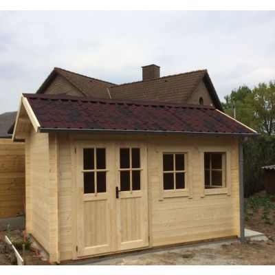 Bild 14 von Azalp Blockhaus Lynn 400x350 cm, 30 mm