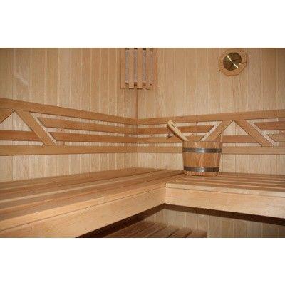 Bild 11 von Azalp Sauna Runda 237x220 cm, Espenholz