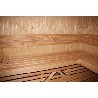Afbeelding 10 van Azalp Sauna Runda 237x237 cm vuren