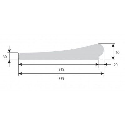 Afbeelding 4 van Trend Pool Boordstenen Ibiza 600 wit (complete set rond)