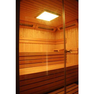 Afbeelding 12 van Azalp Sauna rugleuning Lumen, Elzen