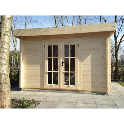 Bild 43 von Azalp Blockhaus Ingmar 400x500 cm, 45 mm