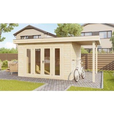 Hauptbild von SmartShed Blockhaus Isidro 400x400 cm, 30 mm
