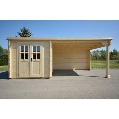 Bild 2 von Azalp Blockhaus Sanne 600x250 cm, 30 mm