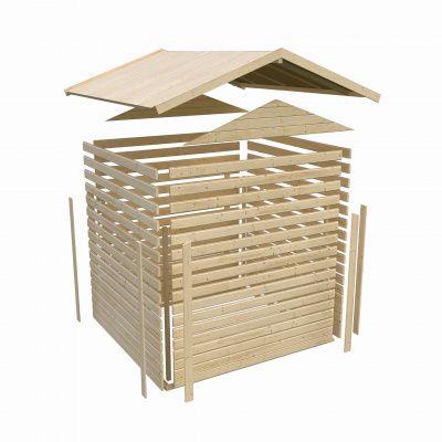 Bild 4 von Woodfeeling Blankenberge 7 mit 2 Anbaudächer