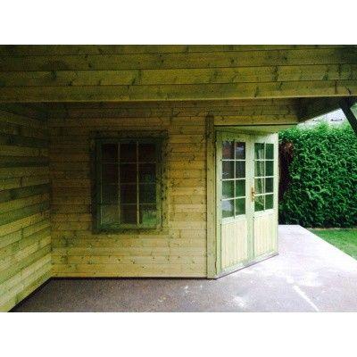 Bild 16 von Interflex Blockhaus 3055 Z, Seitendach 500 cm