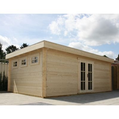 Bild 24 von Azalp Blockhaus Ingmar 350x350 cm, 30 mm