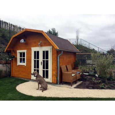 Bild 15 von Azalp Blockhaus Cornwall 400x350 cm, 30 mm