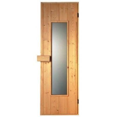 Hoofdafbeelding van Sawo Saunadeur hout 185x63 cm, thermopane