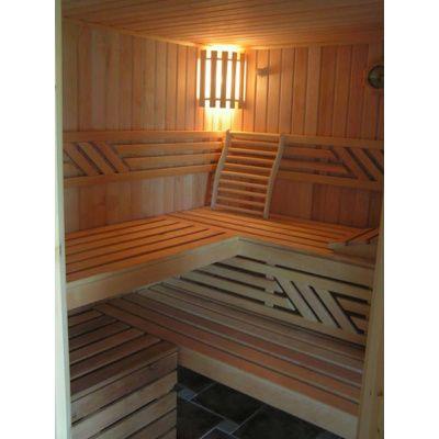 Afbeelding 10 van Azalp Sauna Runda 220x220 cm elzen