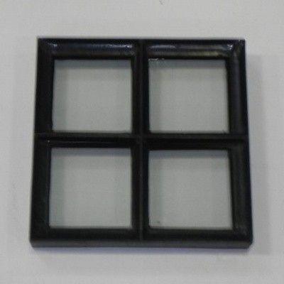 Hoofdafbeelding van Azalp Stalen raam vast, 300x300 mm
