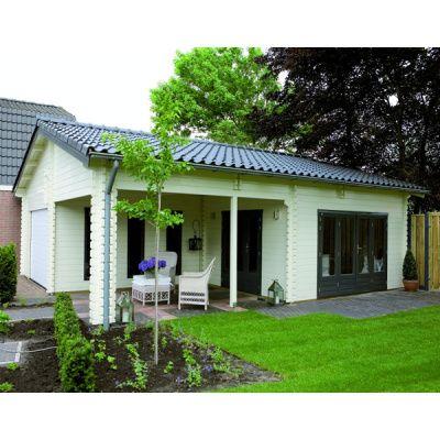 Afbeelding 45 van Azalp Blokhut, tuinhuisje of chalet op maat
