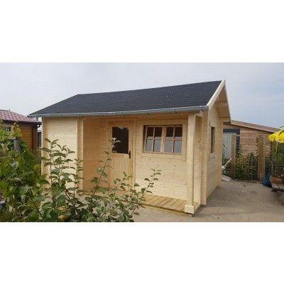 Bild 35 von Azalp Blockhaus Kirkwall 450x400 cm, 45 mm
