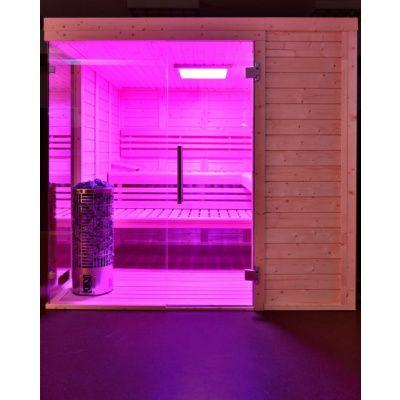 Afbeelding 7 van Azalp Sauna Luja 230x230 cm, 45 mm