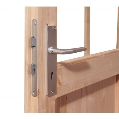 Afbeelding 6 van Woodfeeling Bastrup 5 met veranda 200 cm (73994)