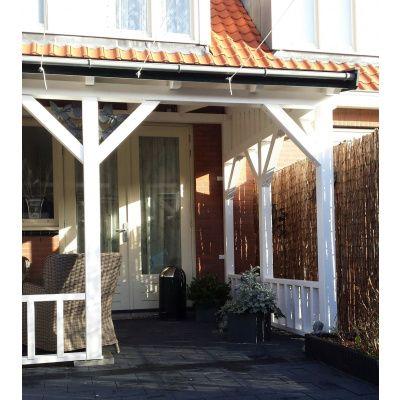 Afbeelding 23 van Azalp Houten veranda 300x300 cm