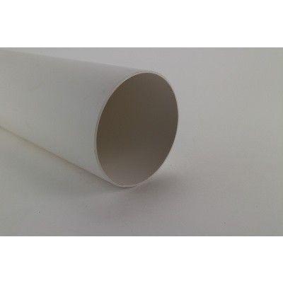 Hoofdafbeelding van Pext Afvoerset: PVC buis 80 mm (lgt. 2,75 m) Wit*