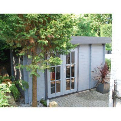 Bild 10 von Azalp Blockhaus Lars 400x350 cm, 45 mm