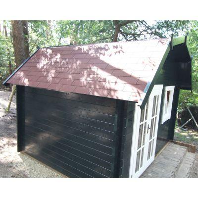 Bild 5 von Azalp Blockhaus Cornwall 400x350 cm, 30 mm