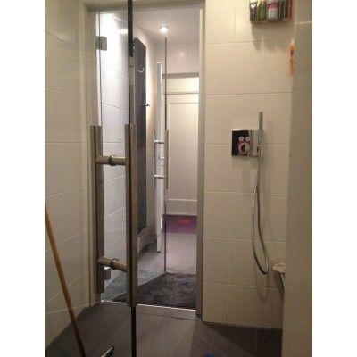Afbeelding 9 van Hot Orange Stoombad deur Au Lux 70x210 cm, blank