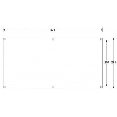 Afbeelding 4 van WoodAcademy Nobility Nero Tuinhuis 580x300 cm
