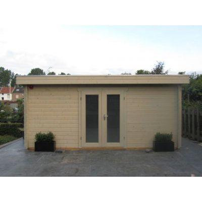 Bild 29 von Azalp Blockhaus Ingmar 350x400 cm, 45 mm