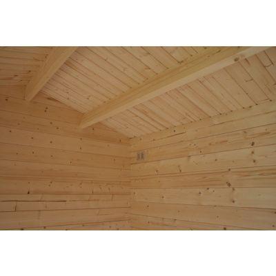 Bild 17 von Azalp Blockhaus Mona 350x400 cm, 30 mm