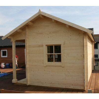 Bild 10 von Azalp Blockhaus Kirkwall 400x400 cm, 30 mm