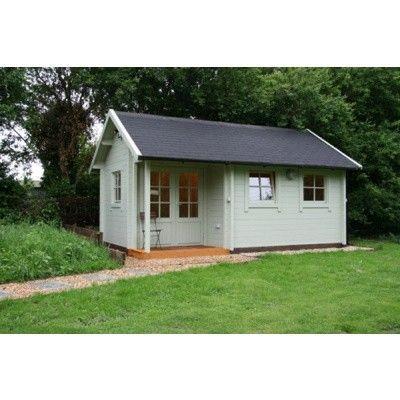 Afbeelding 75 van Azalp CLASSIC blokhut Cottage Style Cumberland 520x430 cm, 45 mm