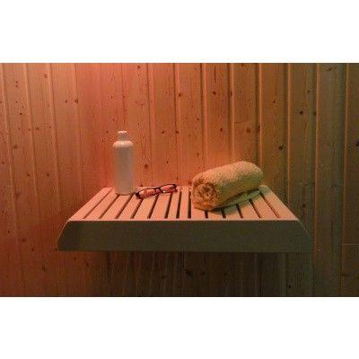 Afbeelding 3 van Liberty Wellness Sauna opberg / legplank 30 x 60 cm