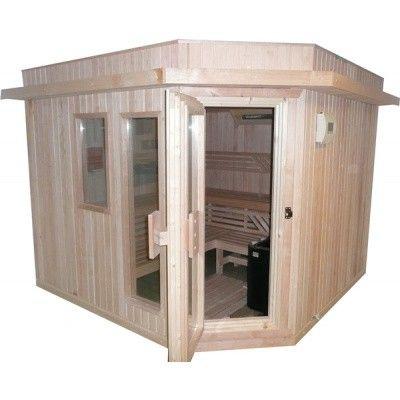 Afbeelding 8 van Azalp Dakrand voor sauna Classic elzen/espen*